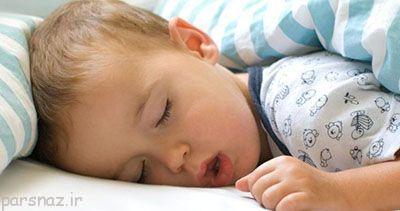 کودکانی که در خواب خرخر می کنند