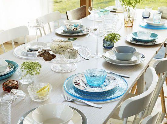 مدل تزیین میز غذا برای پذیرایی مهمانی