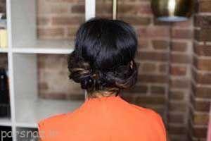 مدل موهای زیبای چند دقیقه ای را ببینید