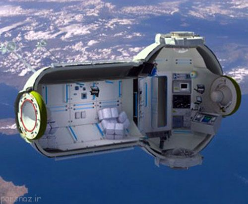 خانه های فضایی روی زمین توسط ناسا
