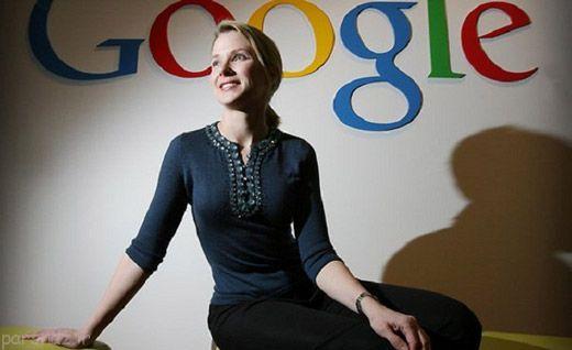 ماریسا مایر ملکه لایق شرکت گوگل است