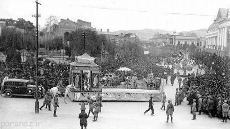عکس های کمیاب از اولین کارناوال شادی سال 1311
