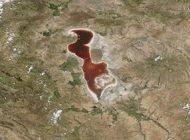 دریاچه ارومیه بازهم خبرساز شد این بار در ناسا