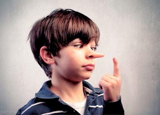 دروغ گفتن بچه ها را تشخیص دهید