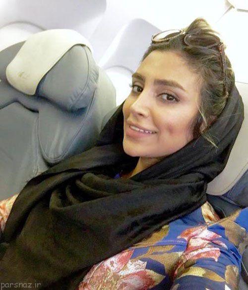 تصاویر جذاب الهام عرب مدل ایرانی بدون آرایش