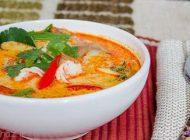 طرز پخت سوپ ماهی تن همراه کاری