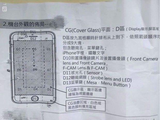 آیفون 7 دارای فلاش برای دوربین جلو است