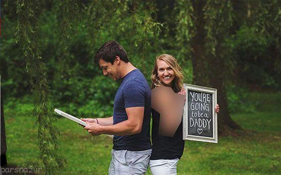 کار جالب این زن برای سورپرایز کردن همسرش