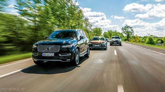 مقایسه سه خودرو SUV هیجان انگیز +عکس