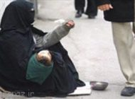 600 گدای خارجی از تهران جمع آوری شدند