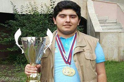 پرهام 15 ساله پادشاه جدید شطرنج ایران
