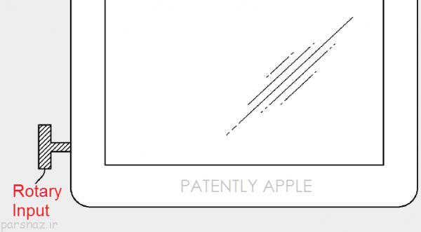 اپل از digitalcrown در iPad استفاده خواهد کرد