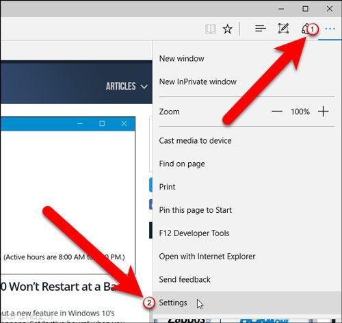 ترفند مرورگر و باز کردن یک سایت در اجرا