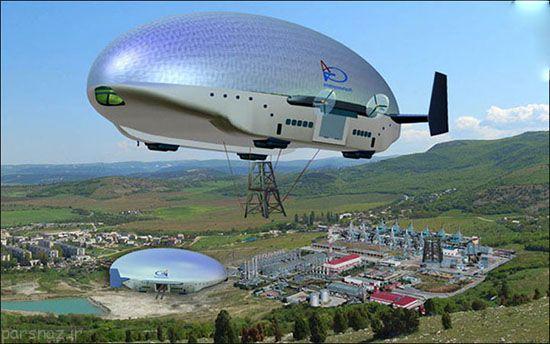 کشتی هوایی فوق پیشرفته متعلق به پوتین