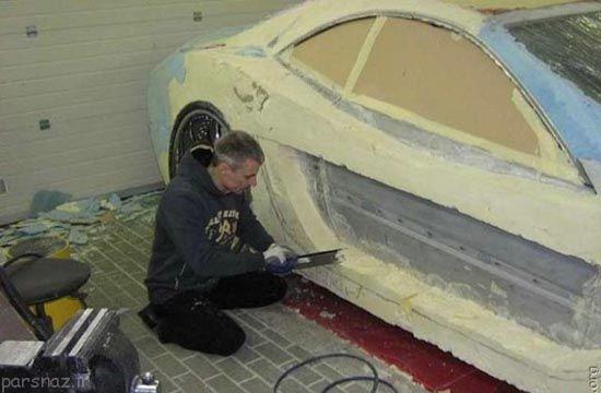 مرسدس بنز طراحی شده به دست این مرد خلاق