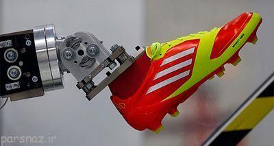 کارخانه آدیداس در آمریکا کاملا رباتیک است