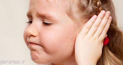 عفونت گوش میانی در کودکان و نکات مهم