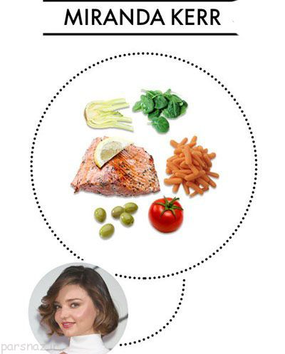 تناسب اندام با رژیم های غذایی هالیوودی