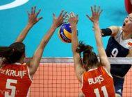 رکورد سرعت سرویس والیبال در المپیک شکسته شد