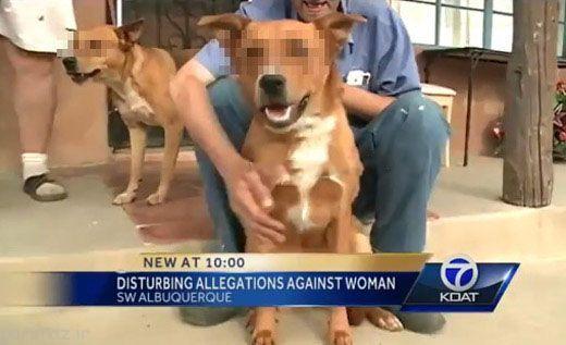 رابطه جنسی این زن با سگ ها جنجال آفرید
