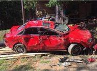 پدر برای تنبیه دختر ماشینش را له کرد