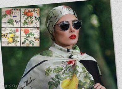 ژورنال مدل های شال و روسری شیک ایرانی 97