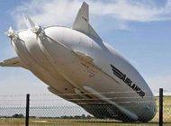 بزرگترین هواپیمای جهان نقش زمین شد