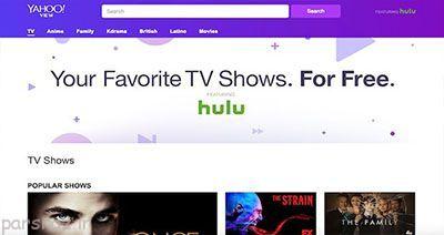 شرکت یاهو  و تلویزیون اینترنتی با نام یاهو ویو