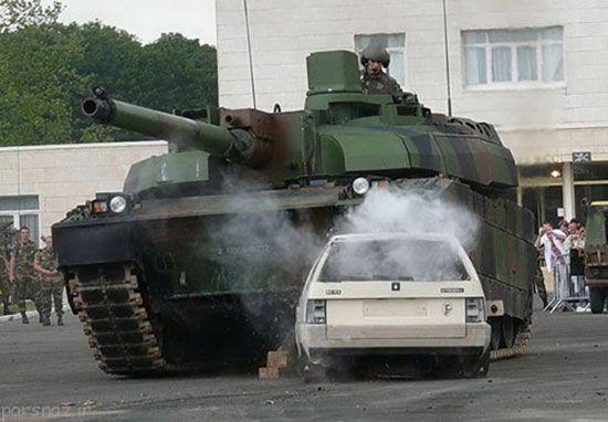 تانک فرانسوی گران قیمت ترین در جهان +عکس