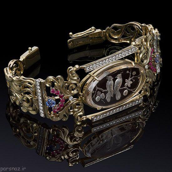 مدل های زیبا و جدید طلا و جواهرات برند Argentov