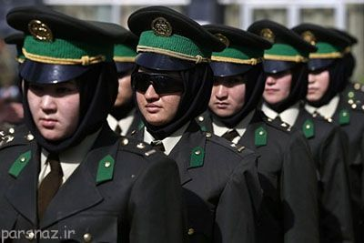زنان پلیس در افغانستان و بررسی اوضاع آن ها