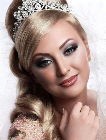 عکس مدل های جدید آرایش عروس زیبا و شیک