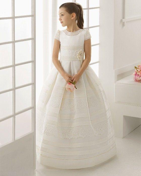 جدیدترین مدل های لباس عروس بچگانه شیک