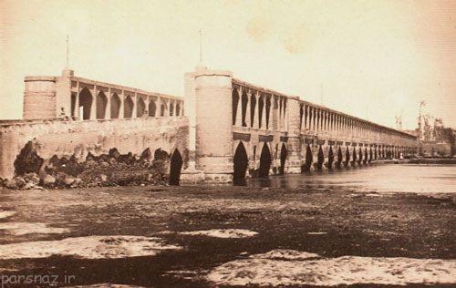 تاریخ شهر اصفهان در گذر زمان +عکس