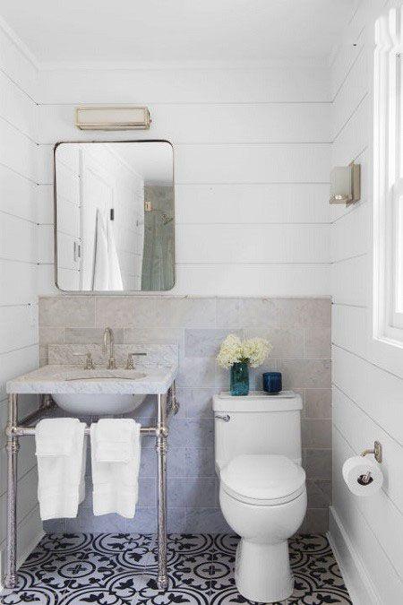 مدل دکوراسیون حمام مدرن و زیبا برای خانه های شیک