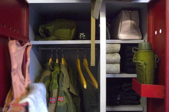 عکس های دختران زیبای نروژی در خدمت سربازی اجباری