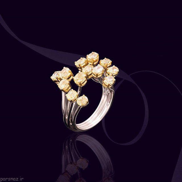 مدل های جدید و جذاب طلا و جواهرات برند Moukarzel