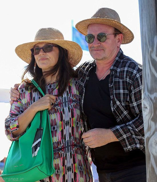 بیل گیتس و همسرش در تعطیلات +عکس