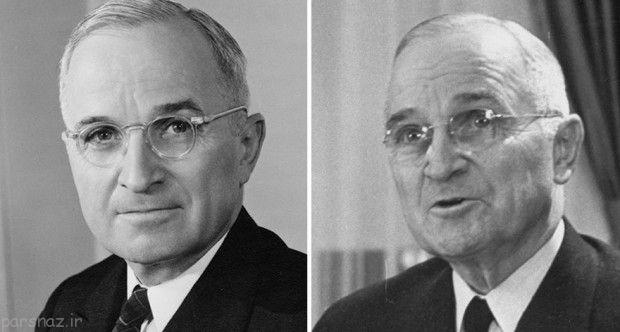 تغییرات چهره روسای جمهور آمریکا در طول ریاست
