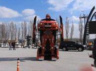 ماشین هایی که به ربات تبدیل می شوند +عکس