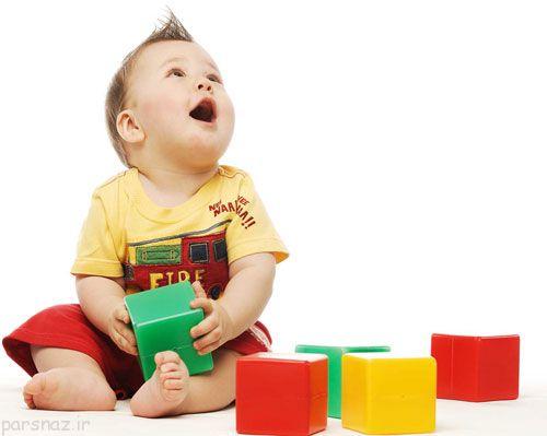 بازی هایی برای ایجاد خلاقیت در نوزادان