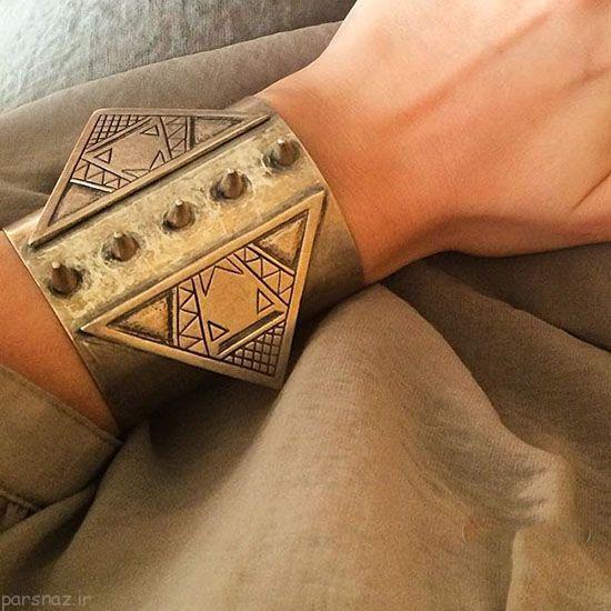 مدل جواهرات ایرانی از طراح بیتا پورطاووسی