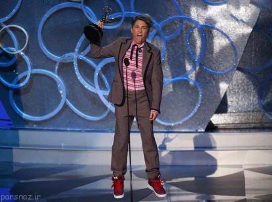 عکس بازیگران و هنرمندان در مراسم Emmy