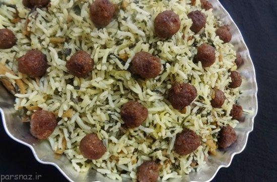 آموزش پخت کلم پلو شیرازی خوش طعم