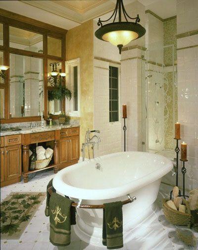 دکور جای حوله در حمام های زیبا
