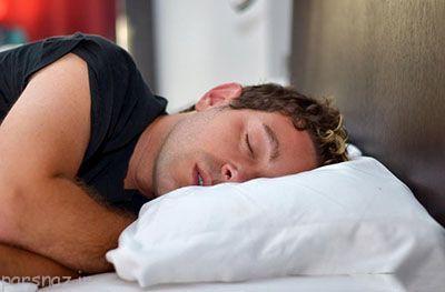 تفاوت خوابیدن در خانم ها و آقایان