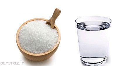 میکروب ها با آب نمک از بین می روند
