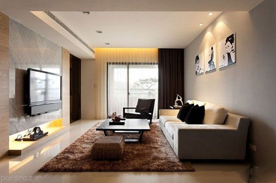 روش چیدن دکوراسیون مستطیلی در آپارتمان ها