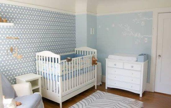 طرح کاغذ دیواری برای دکور اتاق کودک