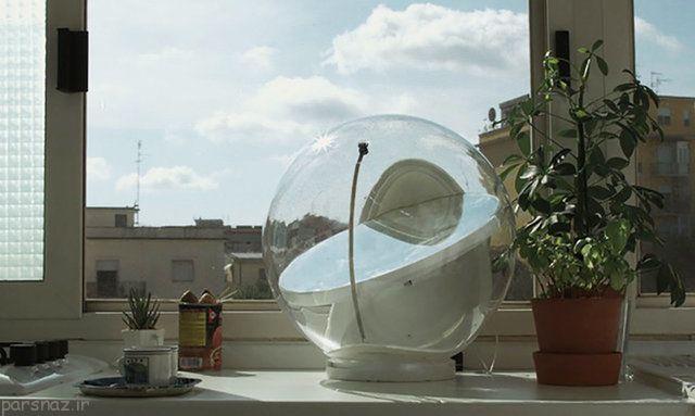 سیستم روشنایی خورشیدی خانگی